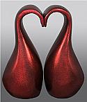 Eternal Love Companion Brass Cremation Urn
