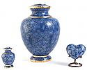 Azure Essence Cloisonne Cremation Urn