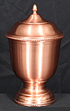 Copper Dalia Cremation Urn
