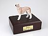 Bedlington Terrier Tan Standing Dog Figurine Cremation Urn