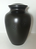 Black Paws In Time Pet Cremation Urn