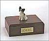 Papillon, Brown Dog Figurine Cremation Urn