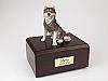 Husky Dog Figurine Cremation Urn