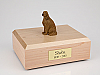 Irish Setter Sitting Dog Figurine Cremation Urn