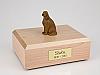 Irish Setter Sitting Dog Figurine Cremation Urn