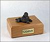 Poodle, Chocolate - show cut  Dog Figurine Cremation Urn