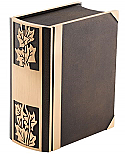 Ivy Bronze Book Companion Cremation Urn
