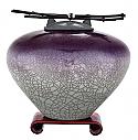 Nasu Raku Ceramic Cremation Urn