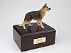 German Shepherd Standing Dog Figurine Cremation Urn