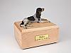 Coonhound  Dog Figurine Cremation Urn