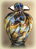 Bella Art Glass Small Cremation Urn