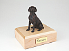 Weimaraner, Bronze Dog Figurine Cremation Urn