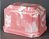 Navarro Pink Cultured Marble Cremation Urn