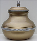 Pewter Gold Sierra Cremation Urn