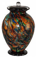 Autumn Glass Adult Cremation Urn