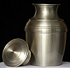 Pewter Silvia Cremation Urn