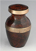 Legacy Brass Keepsake Cremation Urn