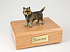 Cairn Terrier Brindle Dog Figurine Cremation Urn