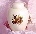Fawn Meadow Infant Cremation Urn
