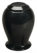 Ebony Adult Marble Cremation Urn