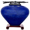 Koniro Raku Ceramic Cremation Urn