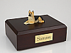 German Shepherd Tri Colour Dog Figurine Cremation Urn