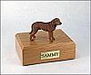Chesapeake Bay Retriever Standing Dog Figurine Cremation Urn