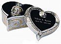 SilverGold Cremation Keepsake Urn Set