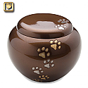 Bronze Cuddle Pet Cremation Urns