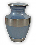 Starlight Blue Brass Keepsake Urn