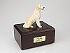 Golden Retriever, Blond  Dog Figurine Cremation Urn
