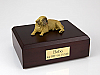 Mastiff Laying Dog Figurine Cremation Urn