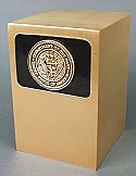 US Navy Bronze Cremation Urn