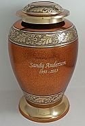 Milano Brass Cremation Urn