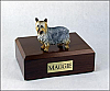 Silky Terrier Dog Figurine Cremation Urn