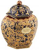 Opulent Porcelain Cremation Urn