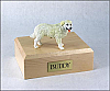 Kuvasz Dog Figurine Cremation Urn