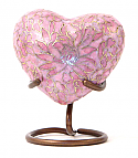 Rose Etienne Heart Keepsake Cloisonne Cremation Urn
