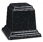 Small Square Cultured Granite Keepsake Cremation Urn