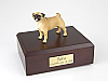 Pug Standing Dog Figurine Cremation Urn