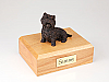Westie, Bronze Dog Figurine Cremation Urn