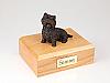 Westie, Bronze Dog Figurine Cremation Urn