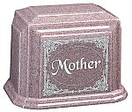 Beloved Mother Cultured Granite Cremation Urn