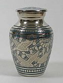 Going Home I Brass Keepsake Urn