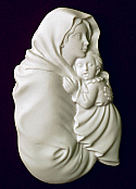 Madonna of the Streets Cremation Urn Applique