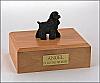 Cocker Spaniel  Standing Dog Figurine Cremation Urn