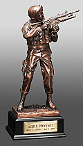 Infantry Keepsake Cremation Urn