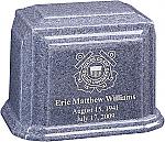 Custom Cultured Granite Cremation Urn