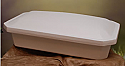 "Eternal Large 32"" White Pet Casket"
