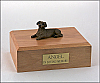 Dachshund, Red Dog Figurine Cremation Urn